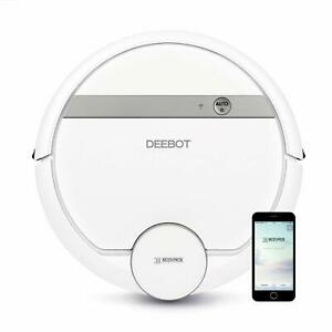 ECOVACS DEEBOT D900 Smart Robotic Vacuum with Mapping Technology Blemished Box