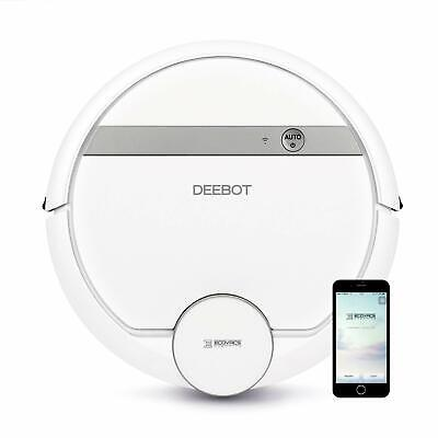 ECOVACS * DEEBOT D900 Smart Robotic Vacuum with Mapping Technology - White