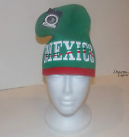 Mexico Beanie Hat (green) ----gorra Tipo Beanie Tricolor
