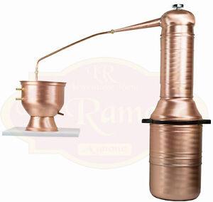 Alambicco Distillatore 30 Litri Colonna, Adatto A Tutti I Tipi Di Distillazione DernièRe Mode