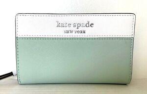 New Kate Spade Cameron medium Bifold wallet Spring Meadow multi