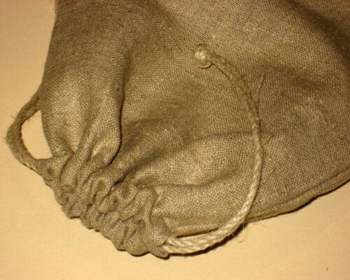 Pain Sac de rangement Sacs réutilisables Rustique Lin naturel pain Sac Eco Friendly