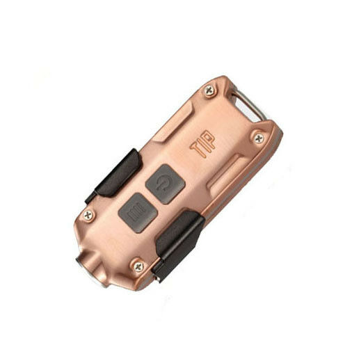NITECORE 2018 TIP 360 Lumen Rechargeable Keychain Flashlight (Copper)
