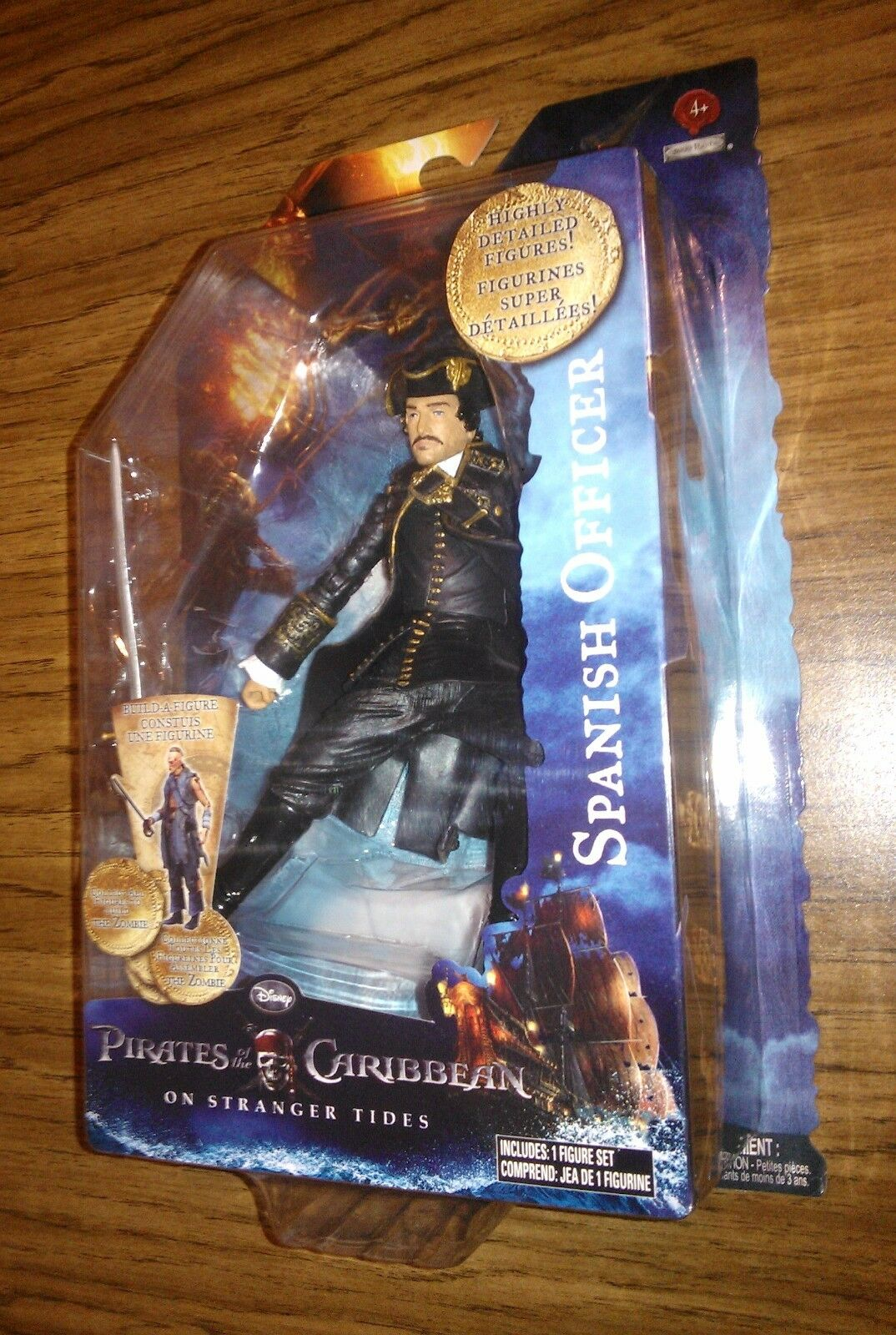 SPANISH OFFICER   Pirates of the Caribbean On Stranger Tides Series 2 RARE