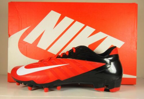 New Mens Nike Vapor Pro Low TD Football Cleats Red Black 511340 610