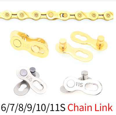 1Pair Portable Bike Chain Buckle Accessories Bicycle Chain Link Joint Connector