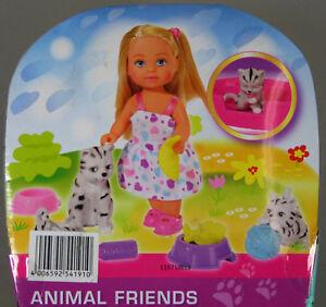 3x Simba en Animal Friends- poupée avec des chats- animaux- personnage- gris-afficher le titre d`origine 9DK1Lx2n-08143927-792969320