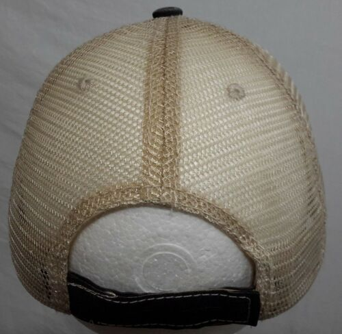 LOWE/'S LOGO STITCHED EMBROIDERED DISTRESSED MESH BASEBALL HAT CAP