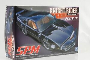 Pontiac-Transam-Knight-Rider-K-I-T-T-SPM-Mode-Kit-Bausatz-1-24-Aoshima