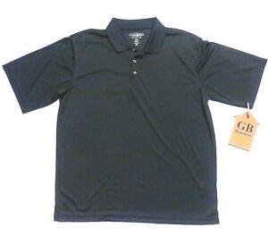 Pebble Beach Polo >> Details About Xl Size Men S Shirt Pebble Beach Polo Style Blue Color Short Sleeve Golf Collar