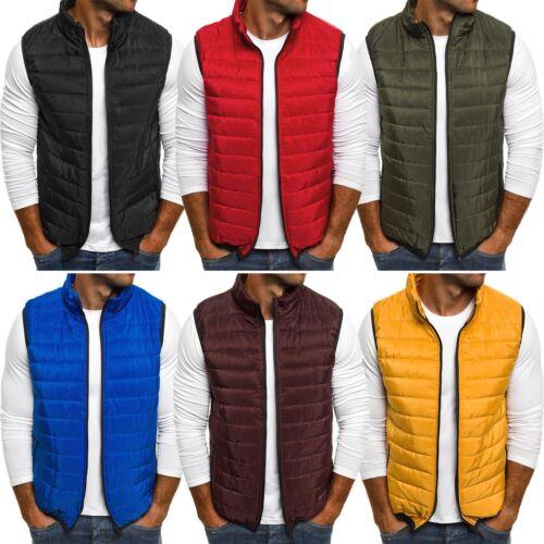Style ak89 Uomo Gilet Bodywarmer Gilet smanicato giacca transizione OZONEE J