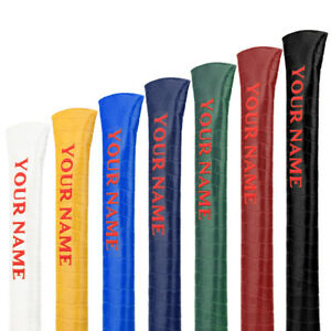 Golf-Alignment-Sticks-Covers-Colorful-Customized-Made-Name-Engraved-on-Crocodile