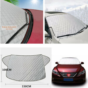 HOT Car Front Windshield Protector Winter Snow Cover Summer Anti-UV 150x100cm 1X