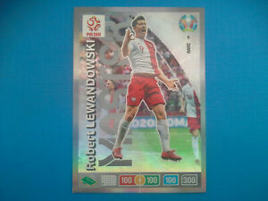 Panini-Adrenalyn-XL-EURO-2020-n-8-Robert-Lewandowski-RARE