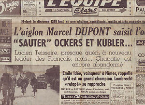 journal l 39 quipe du 15 07 49 cyclisme tour de france 1949 emile idee ebay. Black Bedroom Furniture Sets. Home Design Ideas