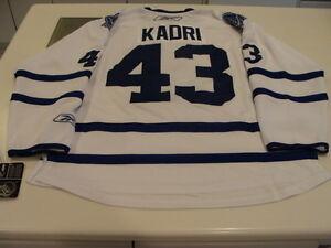 Toronto Maple Leafs Nazem Kadri Away Road White NHL Hockey Jersey XL ... 833315329