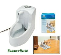 Pet Drinking Fountain Bowl Automatic Dog Waterer Cat Water Dispenser Flow Filter