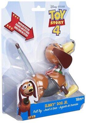 Disney Pixar Toy Story 4 Dog Jr Pull Toy Original Little Slinky Dog JR NEW