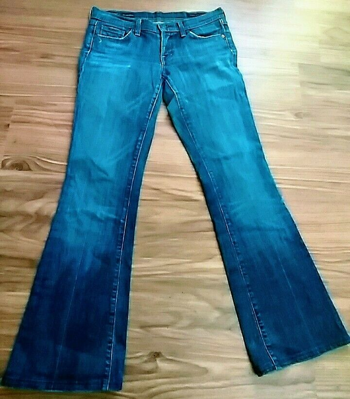 Citizens of Humanity Ingrid Low Waist Flare Stretch Jeans - Size 27