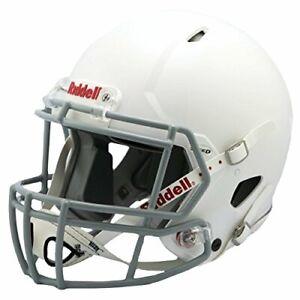 Riddell Victor Youth Football Helmet  White/Gray Medium
