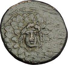 AMISOS in PONTUS MITHRADATES VI the GREAT Gorgon Aegis Nike Greek Coin i54023