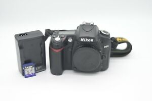 Nikon D90 Camera Only 16K Shutter EXCELLENT Condition
