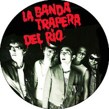 CHAPA/BADGE LA BANDA TRAPERA DEL RIO . pin button punk la perrera stooges morfi