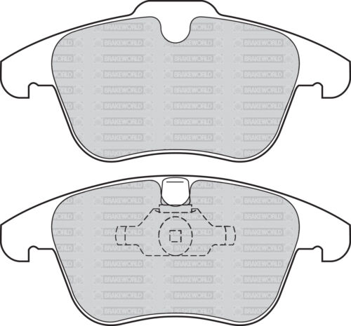 OEM FRONT AND REAR DISCS PADS FOR LROVER RANGE ROVER EVOQUE 2.2 TD 150HP 2011