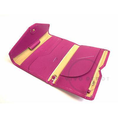 Authentic Zoppen Multi Purpose RFID Blocking Travel Passport Wallet - Purple
