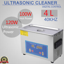 Commercial 4l Ultrasonic Cleaner Industrial Heating Heater With Timer Timing Us
