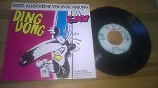 """7"""" Pop EAV Erste Allgem. Verunsicherung - Ding Dong (2 Song) EMI ELECTROLA"""