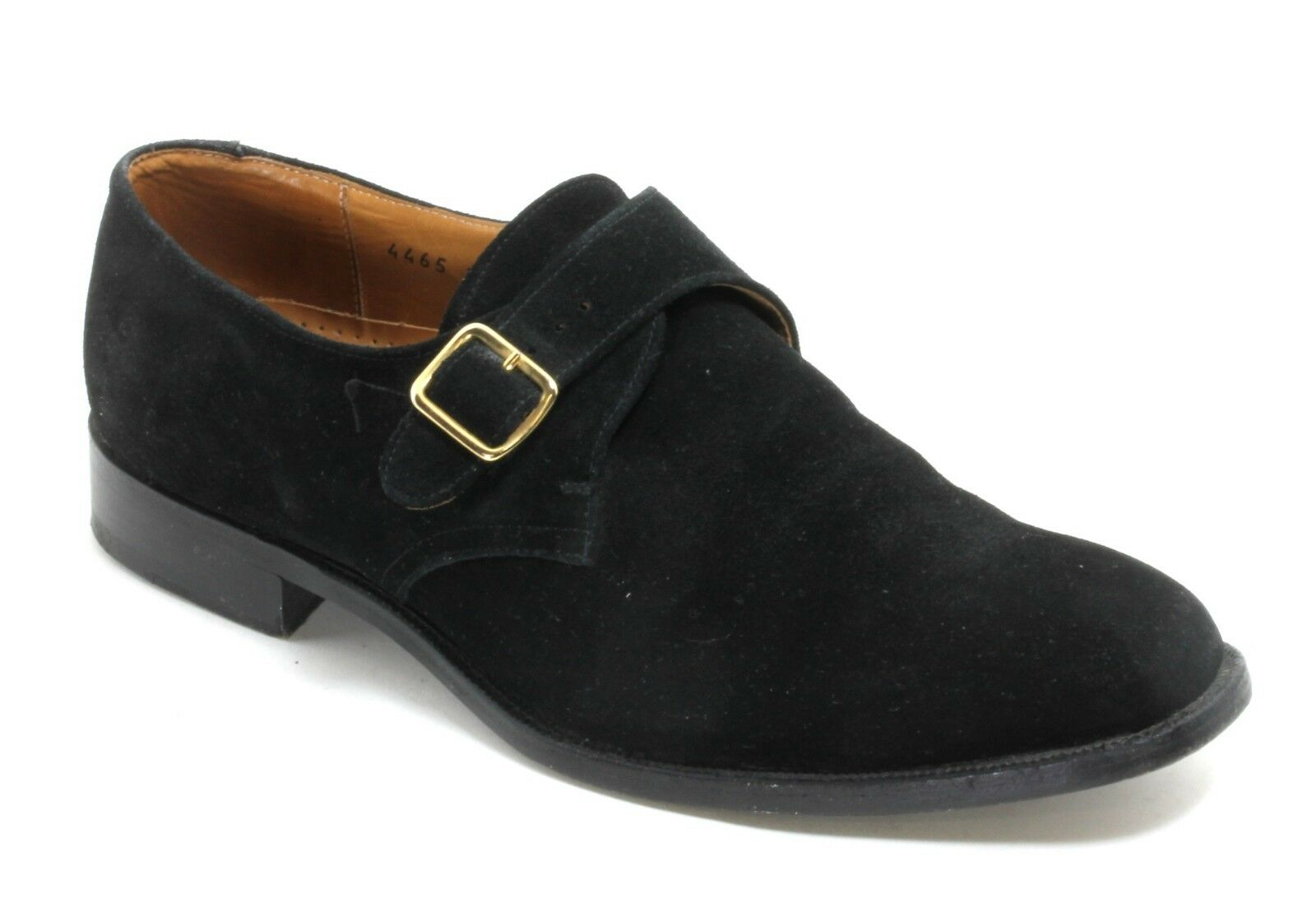 Schuhe Herrenschuhe Halbschuh Schnürschuhe Brogues Finsbury Schnalle Riemen 42,5