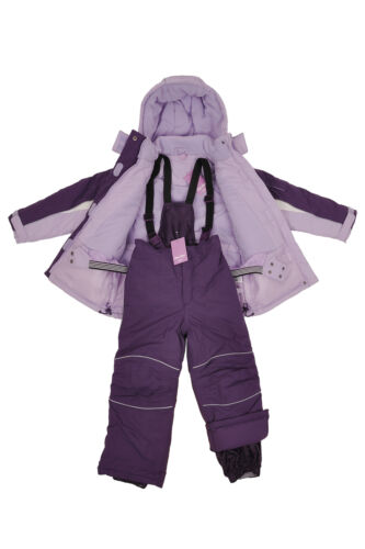 Kids Children Girls SkiSnow Suit JacketPants Purple SZ310 WaterWind Proof