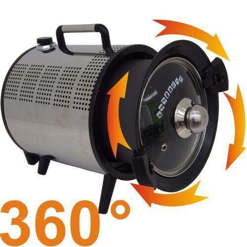 Heißluftofen Rotierender Backofen Elektroofen für max. 2,5 kg