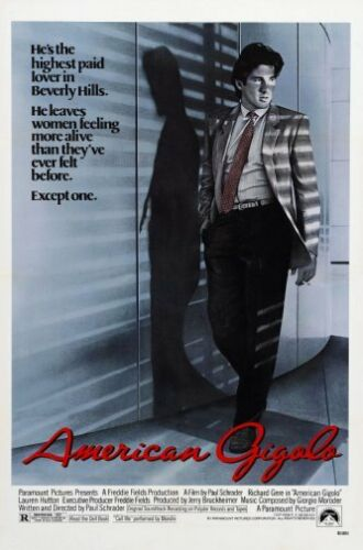 28cm x43cm American Gigolo Movie Poster #01 11x17 Mini Poster