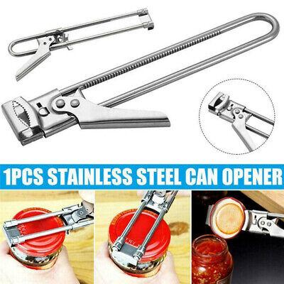 Adjustable Bottle Can Opener Beer Stainless Steel Jar Lid Gripper kitchen Tool