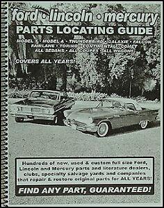 La Foto Se Esta Cargando Encontrar Ford De Repuestos De Automovil Con Libro