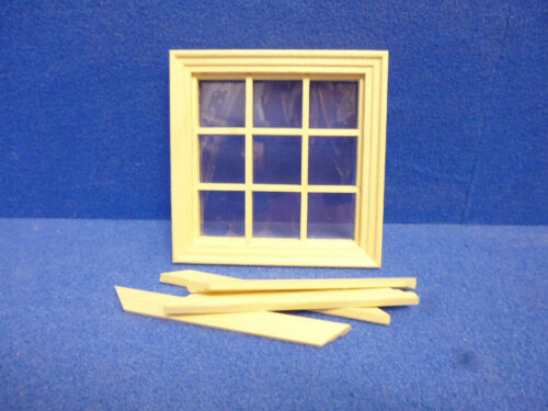 Maison de poupées windows diy 9 lt fenêtre cv124
