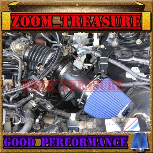 BLACK BLUE AIR INTAKE KIT FOR 2000-2001//00-01 INFINITI I30 I30T WITH V6 3.0L