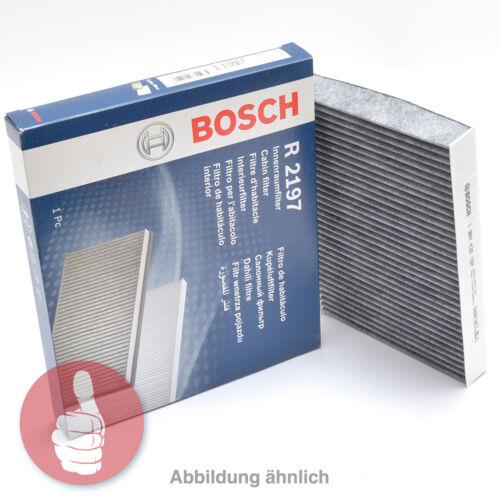 Bosch interior filtro filtro de polen con carbón vegetal activado 1987435524