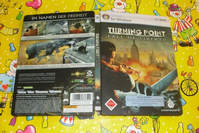 Turning point fall of liberty steel box PC DVD #LB293MJ