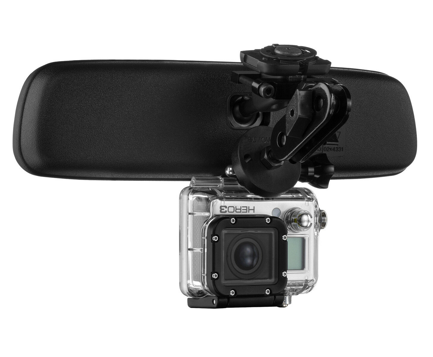 Mirror Mount Action Cam Bracket for GoPro Hero and Compatible Featured