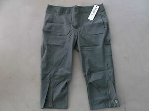 Lija-donna-3-4-lunghezza-pantaloni-da-golf-UK-14-carbone