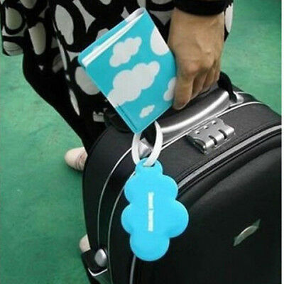 3PCS/Set Travel Passport Holder Luggage Tag Cute Love Cloud Design For All