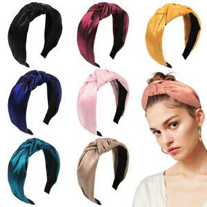 Women-Fabric-Hairband-Bow-Knot-Cross-Headband-Girl-Hair-Band-Headwear-CA