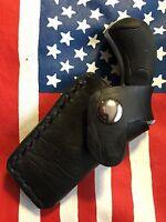 North American Arms Pug 22mag Derringer Croc Print Leather Pocket Holster