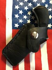 NORTH AMERICAN ARMS 22LR/22MAG COMBINATION 1 1/8 BARREL LEATHER POCKET HOLSTER