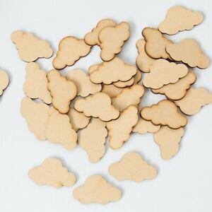 Wooden Number Craft Plaques Decoupage Shapes MDF Embelishments Wood Decor Letter