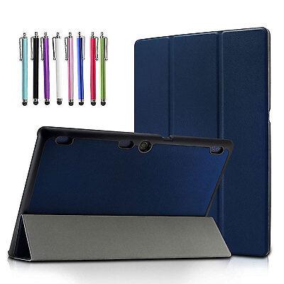 Lenovo Tab 2 A10-70/TAB-X103F Tab 10/Tab 3 10 Business Slim Tri-Fold Case Cover
