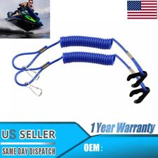 2 Pwc Jet Ski Waverunner Key Lanyard Stop Kill Switch Safety Blue For Yamaha For Sale Online Ebay